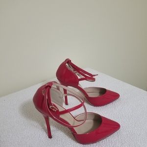 """Size 8 4"""" Sexy red Shoes used in great condition"""